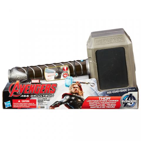 Avengers Thor Lightning Strike Hammer |AGE 5+