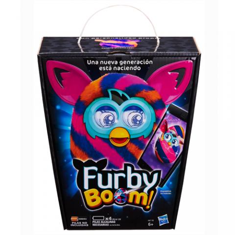 Furby Boom Sunny (Diagonal Stripes) |AGE 6+