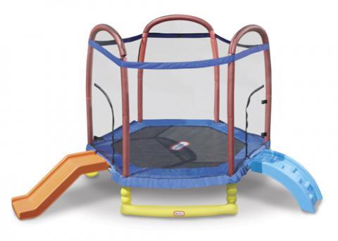 Climb n Slide 7ft Trampoline 1|AGE 3+