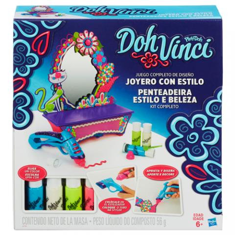 DohVinci Style & Store Vanity Design Kit |AGE 6+