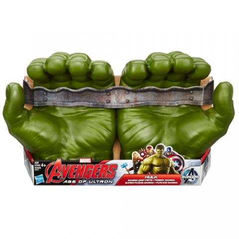 Avengers Age of Ultron Gamma Grip Hulk Fists|AGE 4+