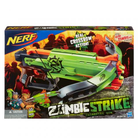 Nerf Zombie Strike Crossfire |AGE 8+