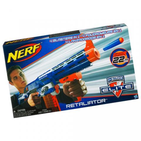 Nerf N-Strike Elite Ritaliator Blaster AGE 8+