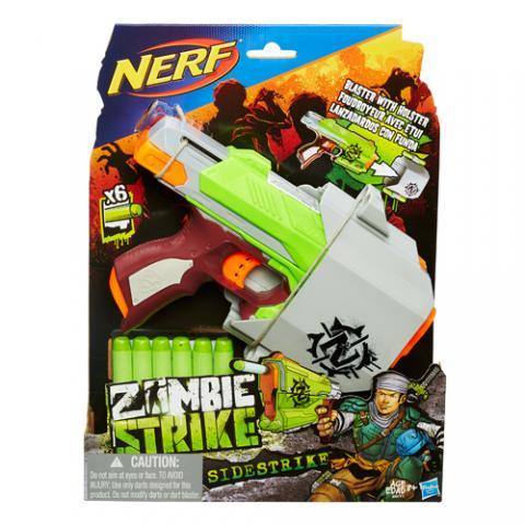 Nerf Zombie Strike Sidestrike|AGE 8+