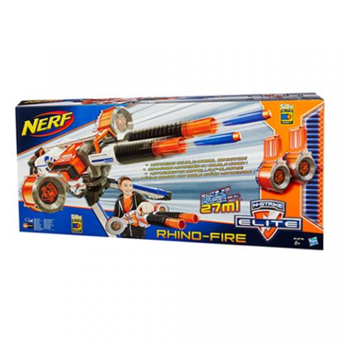 Nerf Rhino-Fire|AGE 8+
